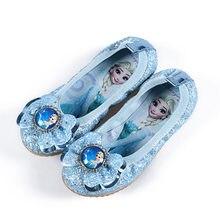 e3a33dae421d4 2018 nouveau Elsa Filles Ballet Appartements Dance Party Glitter Enfants  Chaussures Bling Princesse sneaker 3-
