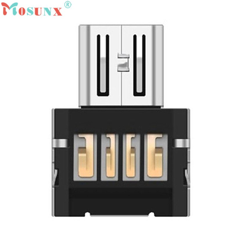 Factory Price MOSUNX Hot Selling Good Quality Mini USB 2.0 Micro USB OTG Converter Adapter Cellphone TO US Drop Shipping