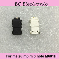 Разъем для наушников для Meizu M3 m 3 Note m681h 5.5 ''аудио для наушников черный наушник модуль отверстия для meilan M3 М 3 Примечание m681h