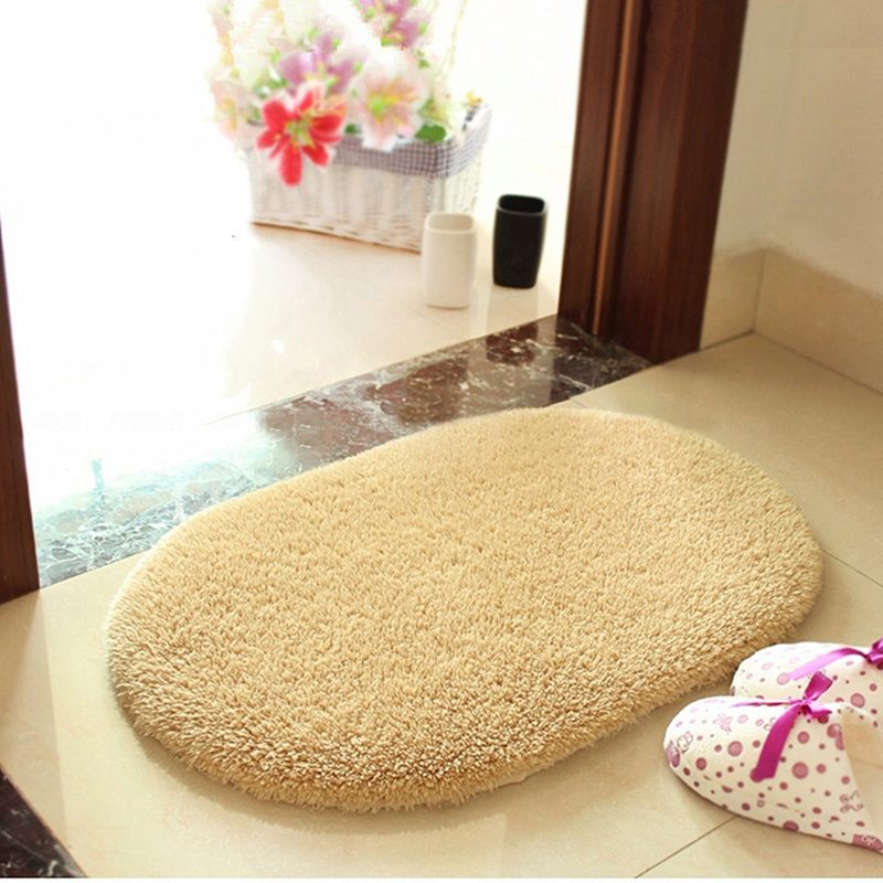 romantic absorbent soft bathroom carpet bath mats antiskid mat for kitchen - Bathroom Carpet