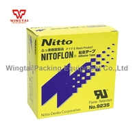 3 Pcs T 0.10mm* W 50mm* L33m 923S Good quality NITOFLON PTFE Adhesive Tape