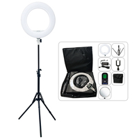 Yidoblo AX 480EII 5500K Warm & Cold Bio color Camera Photo/Studio/Phone/Video 18'' 240 LED Ring Light LED Lamp Makeup Ring lamp
