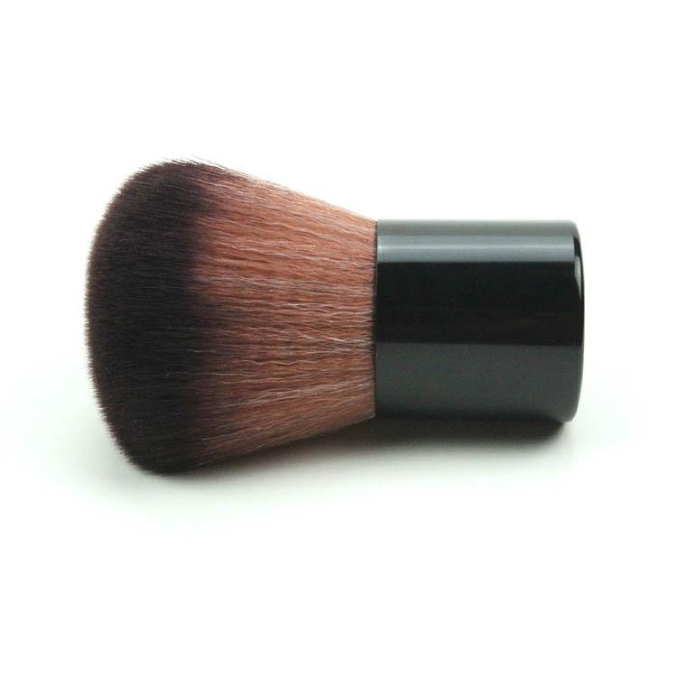 Very Big Beauty Powder Brush Blush Foundation Round Make Up Tool Large Cosmetics Aluminum Brushes Soft Face Makeup,Free Shipping make up factory blush brush