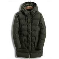 Mens Casual Jackests 2017 Winter Warm Thicken Coats Plus Size M XXXL Outcoats High Quality Jacket