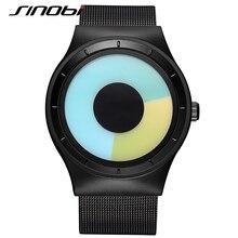 SINOBI Fashion Unisex Business Wrist Watches Female font b Dress b font Geneva Quartz Clock Ladies