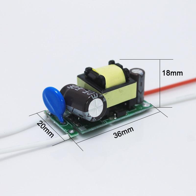 Անվճար առաքում 6 հատ / լոտի (8-12) x 1W Led - Լուսավորության պարագաներ - Լուսանկար 5