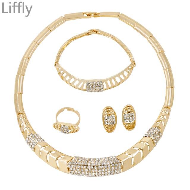 migliore qualità per qualità doppio coupon Oferta Liffly europeo Retro clásico 18 conjuntos de joyas ...