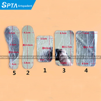 Dentist Products 5 type Oral Clinic Stainless Steel Photographic Mirror Reflector Dental Lab
