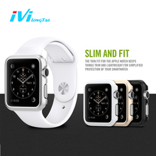 Case For Apple Watch Case Series 3 1 2 38mm 42mm Cover Case Metal Hard Cases Shockproof Covers Rose Gold Silver Black for iwatch