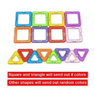 Image 3 - Big Size Magnetic Designer Magnet Building Blocks  Accessories  Educational Constructor Toys For Children