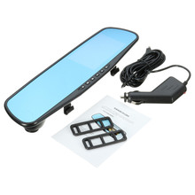 Cheapest prices FHD 1080P Dual Lens Car Camera Rearview Mirror Auto DVRs Cars DVR Parking Video Recorder Registrator Dash Cam Night Vision