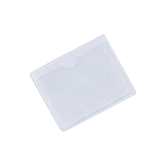 1 Piece 10*8 cm Parking Permit Holder Label Bag Ticket Note Holders for Car Van Caravan Windscreen Auto Transparent Label Bag