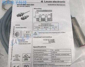 شحن مجاني 100% جديد IS218MM/4NO-5E0 هو 218 مللي متر/4NO-5E0 حثي القرب التبديل PNP عادة مفتوحة 10-30 فولت