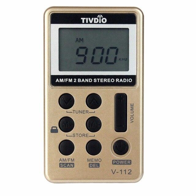 2 шт. Мини-Карманного Радио FM/AM 2 Группа Радиоприемник Аккумулятор + Наушники Fm-радио F9202