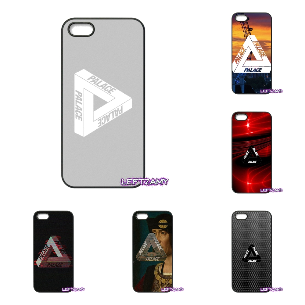 Palace Brand Logo Fashion Hard Phone Case Cover For iPhone 4 4S 5 5C SE 6 6S 7 8 Plus X 4.7 5.5 iPod Touch 4 5 6