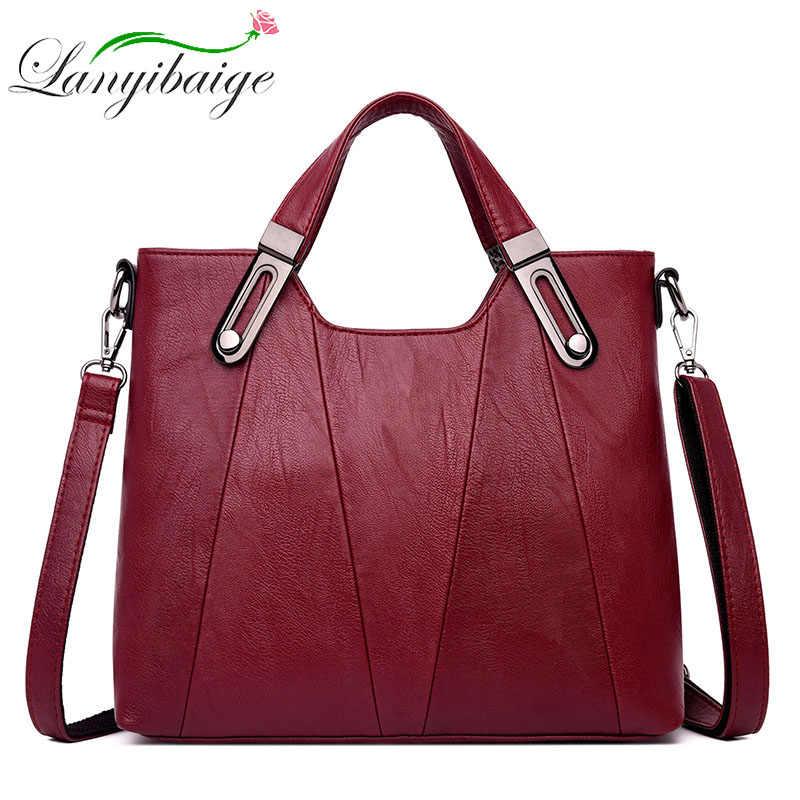 2019 новая женская сумка через плечо роскошные кожаные сумки женские сумки дизайнерские известные бренды Женские сумки через плечо