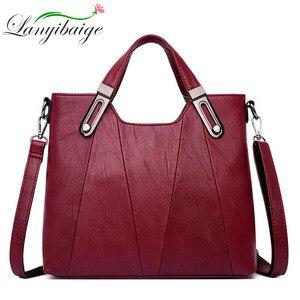 Image 2 - 2020 NEW Women Shoulder Messenger Bag Luxury Leather Handbags Women Bags Designer Famous Brand Female Crossbody Bags Sac A Main