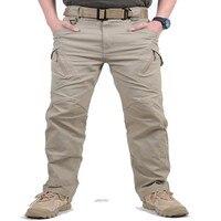 IX9ยุทธวิธีผู้ชายกางเกงกางเกงรบSWATกองทัพทหารกางเกงผู้ชายกางเกงคาร์โก้สำหรับผู้ชายทหารพราง...
