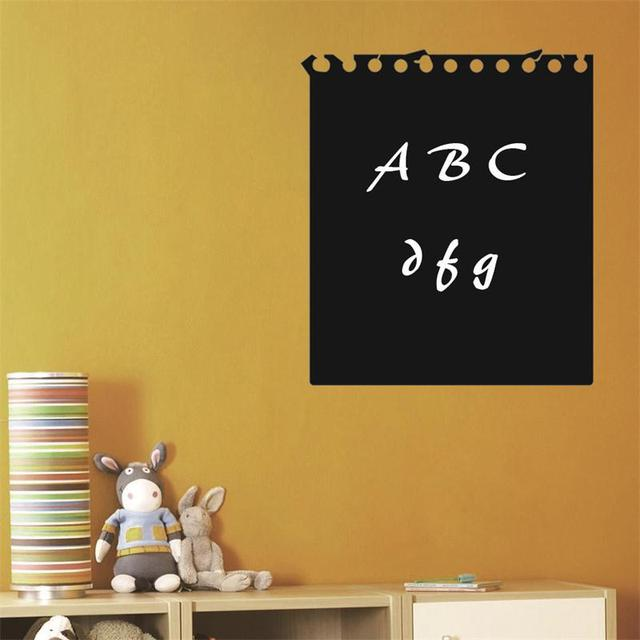 Paper Pattern To Do List Chalkboard / Blackboard painting home decal ...