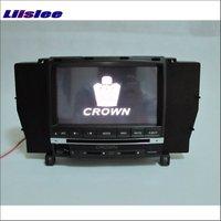 For Toyota Crown Royal Majesta S180 2003 2008 Car Radio CD DVD Player GPS Navigation Audio