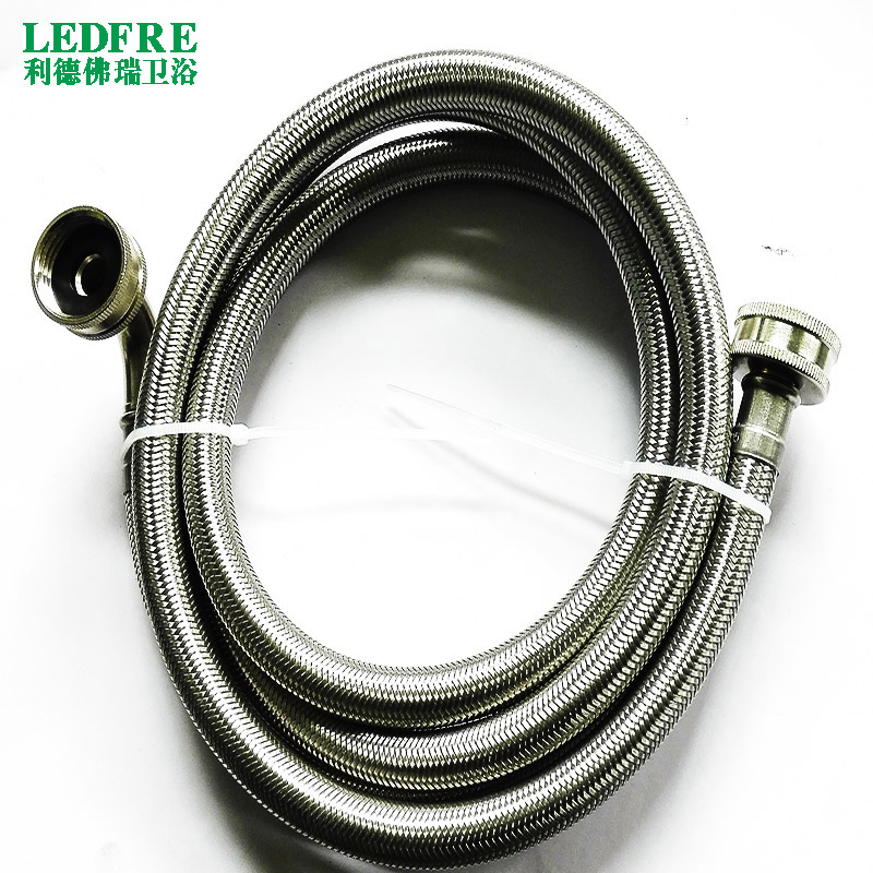 LF15015 F3/4*F3/4elbow flexible hose stainless steel braided washing machine hose elbow plumbing hose flexible PVC tube цена