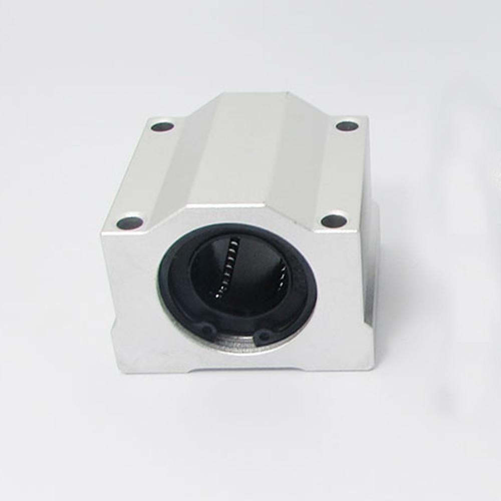 1pc free shipping SC10UU SCS10UU 10mm Linear Ball Bearing Block CNC Router sc10uu scs10uu 10mm linear axis ball bearing block bearing pillow bolck linear unit for cnc