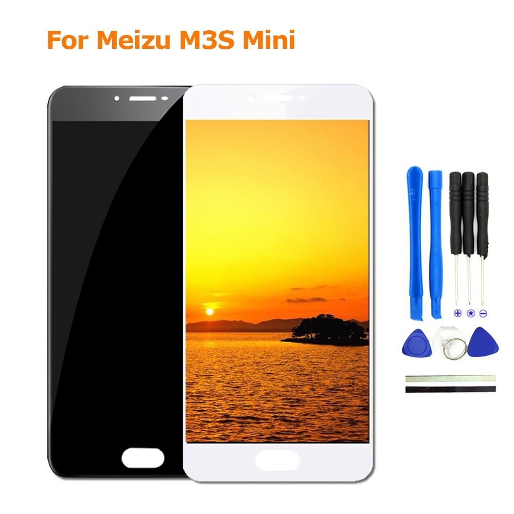 2017 Nouveau Pour Meizu M3S Mini LCD Affichage à L'écran Tactile de Remplacement Pour Meizu M3S Moblie Téléphone Pièces Avec FreeTools