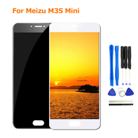 2017 New For Meizu M3S Mini LCD Display Touch Screen Replacement For Meizu M3S Moblie Phone