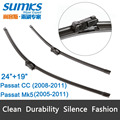 Wiper blades for Volkswagen Passat Mk5 Estate Saloon ( 2005 - 2012 ) fit push button wiper arms only car accessory auto parts
