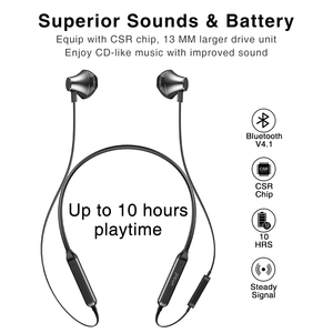 Image 2 - Picun H12 Bluetooth Earphone IPX5 Waterproof Sports Running Wireless Headphones Magnetic Design Neckband Earbuds For smart phone