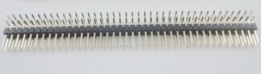 20pcs 2x40 P 2.54mm Pitch Pin Header dual row Male right angle square pins through hole gold plated rows space 2.54  10pcs 2x40 p 80 pin 2 00 mm female header pin headers dual row straight through hole insulator height 4 30mm rohs 2mm pitch