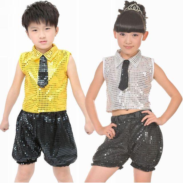 151f3c55ef53 New Children Dancing Costume Jazz Dance Costume Kids Flamenco Dance ...