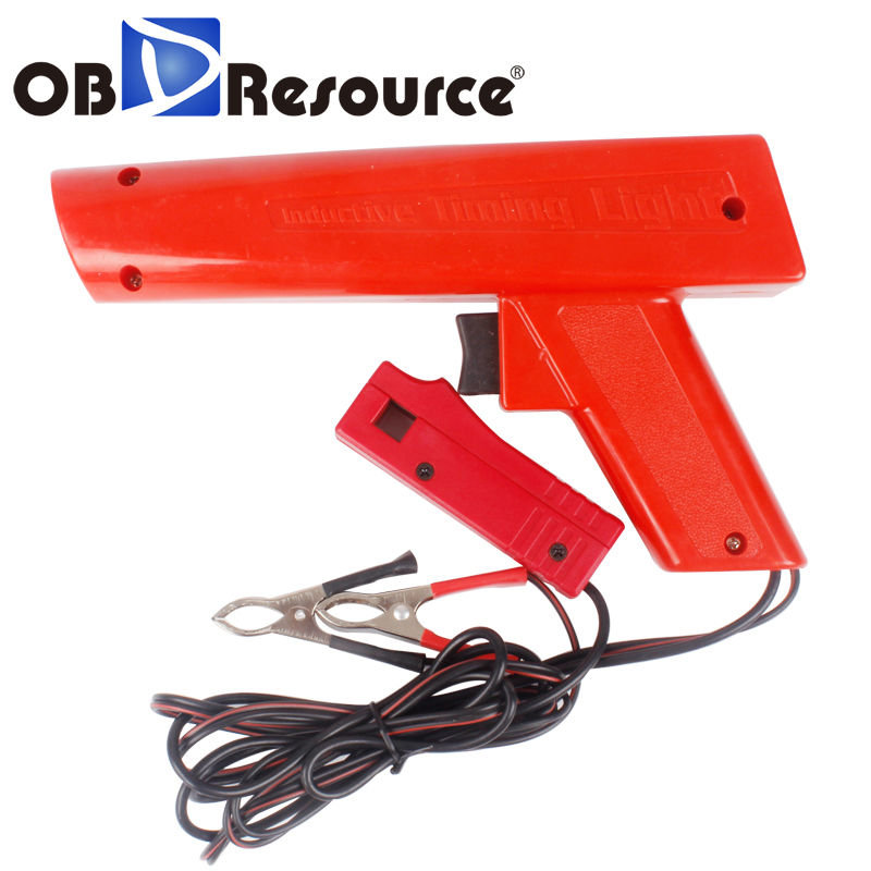 Professional 12V Gasoline Engine Inductive Ignition Timing Light Machine Car Motorcycle Detector Auto Garage Repair Hand Tools