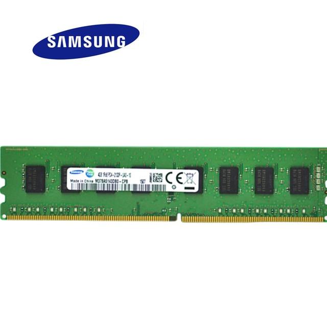 SAMSUNG PC Memory RAM DDR4 4GB 8GB 2133 Memoria DRAM Stick for Desktop
