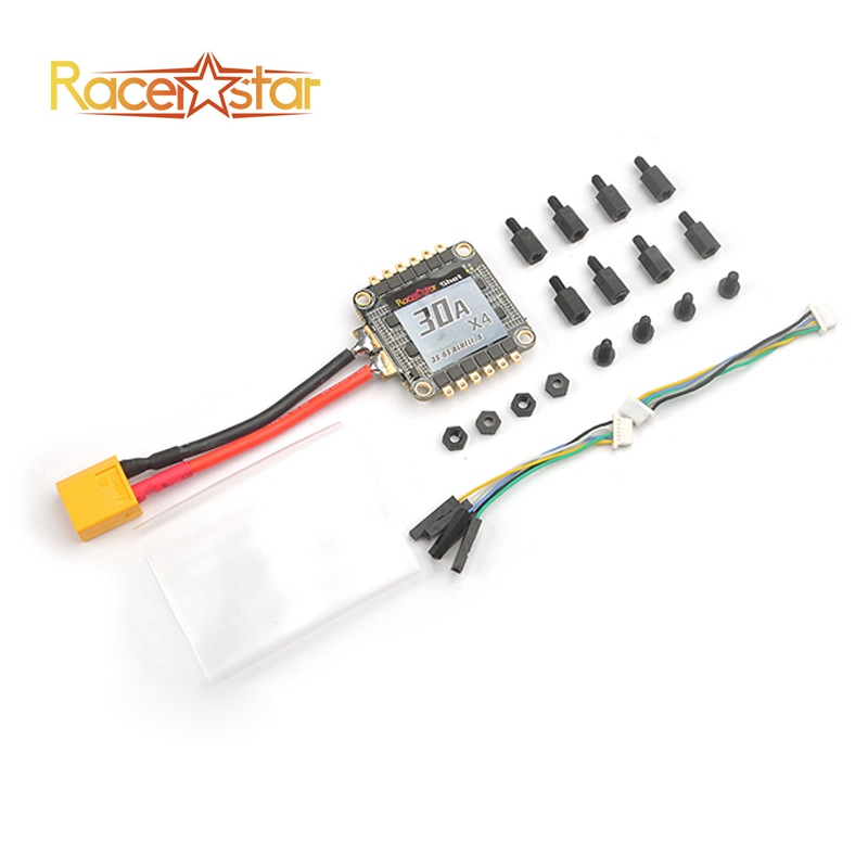 Original Racerstar Shot30A ESC 30A 30amp 3-6S 4 in 1 BLHeli_S BB2 Dshot600 Integrated Current & Voltage Sensor For RC Drones Toy(China (Mainland))