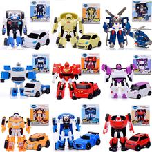 9 Style Tobot 1 Generation Robot Cars Transformation Toys Cartoon Deformation Anime Tobot Car Model Toys gift For Kids(China)