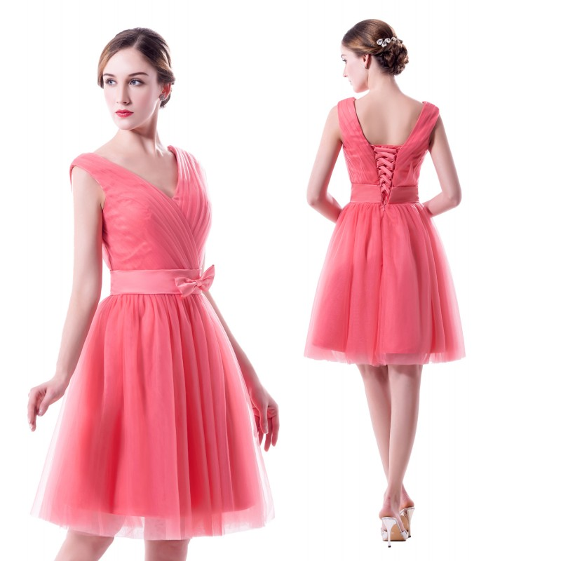 Popular Bridesmaid Dresses Watermelon-Buy Cheap Bridesmaid Dresses ...