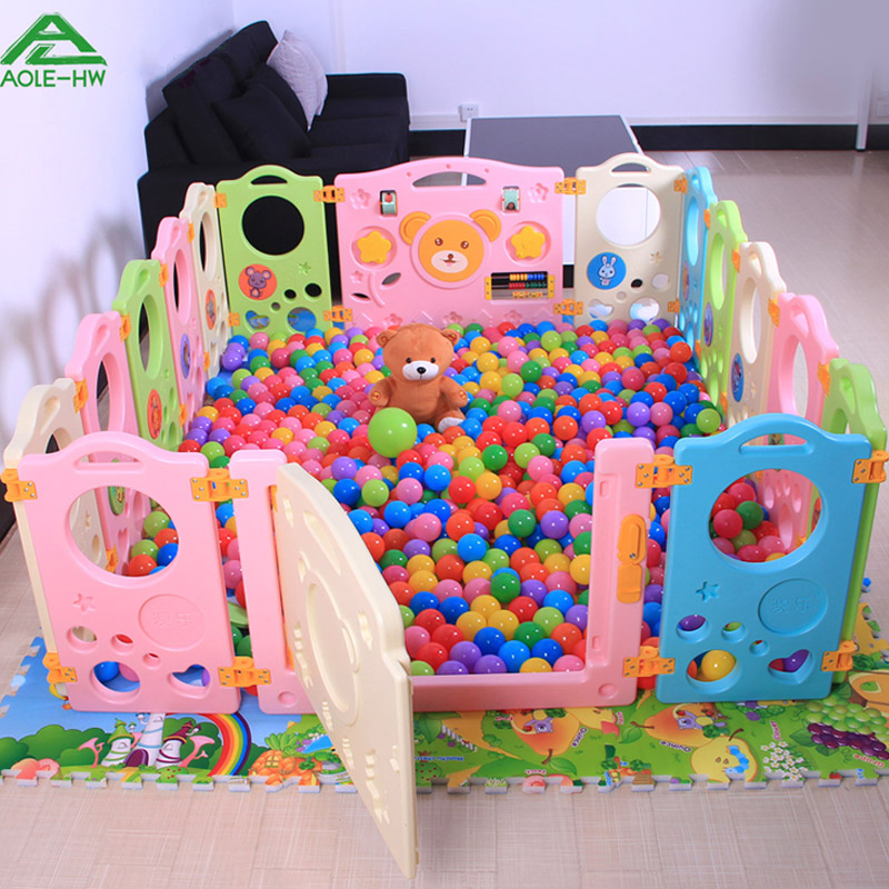 Baby Child Game Fence 10 2 Pcs Set Crawling Baby Security Fence Toddler Fence Ocean Ball Pool Toy Ball Pool funny fishing game family child interactive fun desktop toy