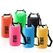 Camping PVC Waterproof Bags 2L 3L 5L Outdoor Dry Bag Water Resistant Swimming Storage Bag Upstream Pouch for Cano Kayak Rafting