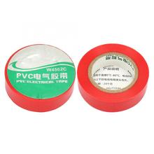 10Pcs/set Red PVC Electrical Insulated Adhesive Tape Antiflaming Lead-free Wear-resistant Waterproof tape