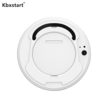 Kbxstart Mini Vacuum Cleaner Robot Rechargeable Intelligent Auto-Induction Floor Sweeping Dust Catcher