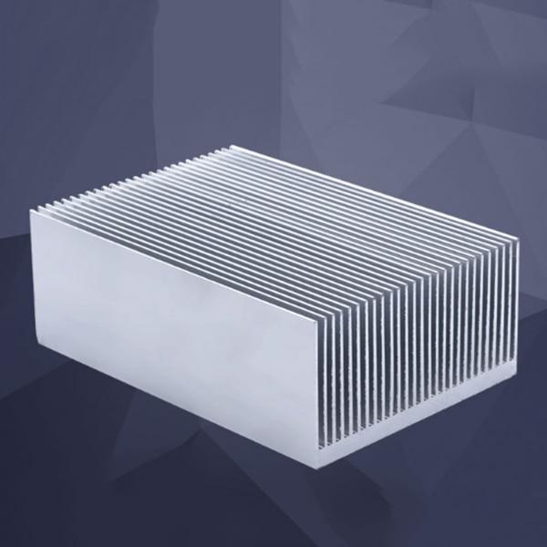 Aileron de refroidissement de radiateur de radiateur de radiateur en aluminium chaud-grand pour l'amplificateur d'ic alimentation LED