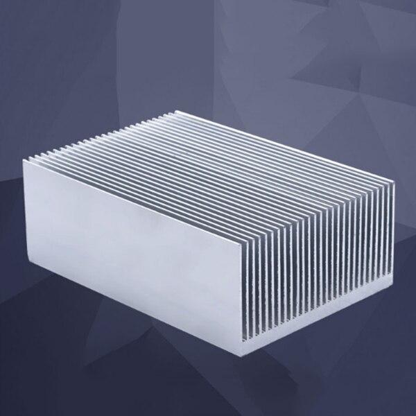 HEIßER Große Aluminium Kühlkörper Kühlkörper Kühler Cooling Fin für IC LED Leistungsverstärker