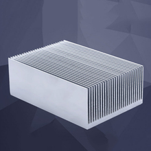 HOT-Large Aluminum Heatsink Heat Sink Radiator Cooling Fin for IC LED Power Amplifier