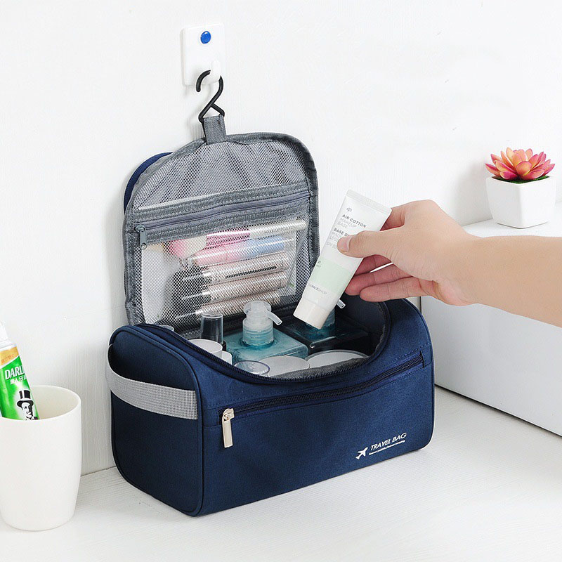 Waterproof  Travel Cosmetic Bag Makeup Bag  Women Bags Men Large Organizer Case Necessaries Make Up Wash Toiletry Bag(China)