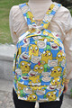 Saco de Ombro Da Lona Mochila Mochila de Estudante dos desenhos animados Adventure Time Finn e Jake Sacos Casual Crianças Brinquedos Presentes de Natal