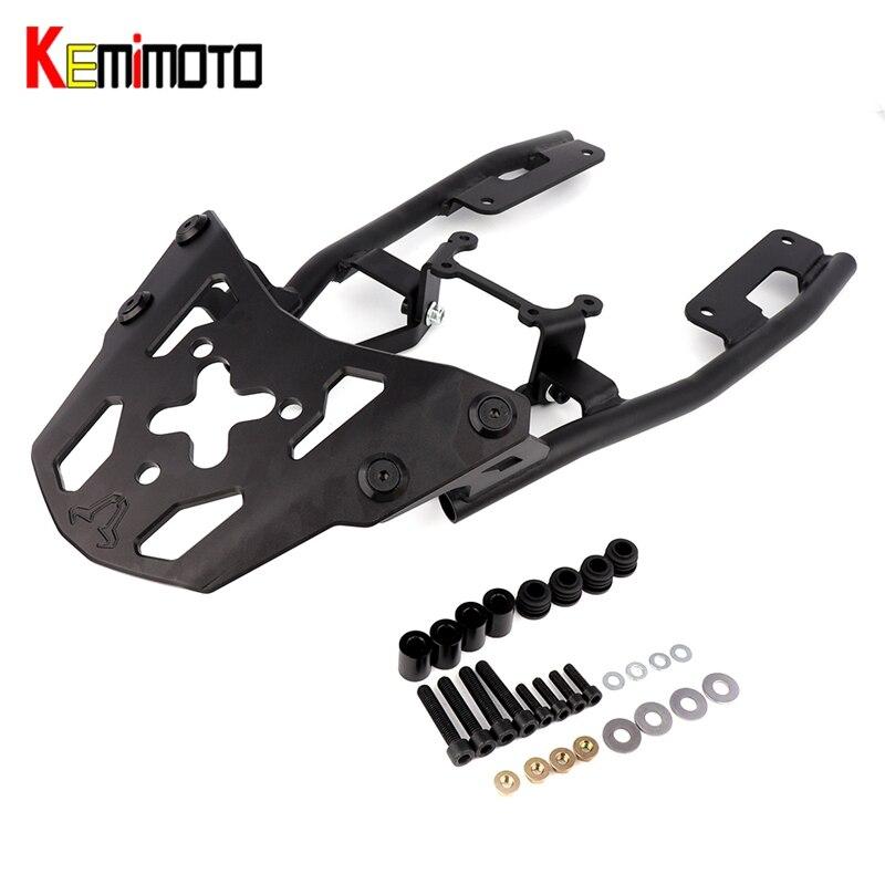 Kemimoto для Yamaha MT 09 MT09 mt 09 fz09 fz 09 2017 Аксессуары для мотоциклов задний багажник Чемодан стойки