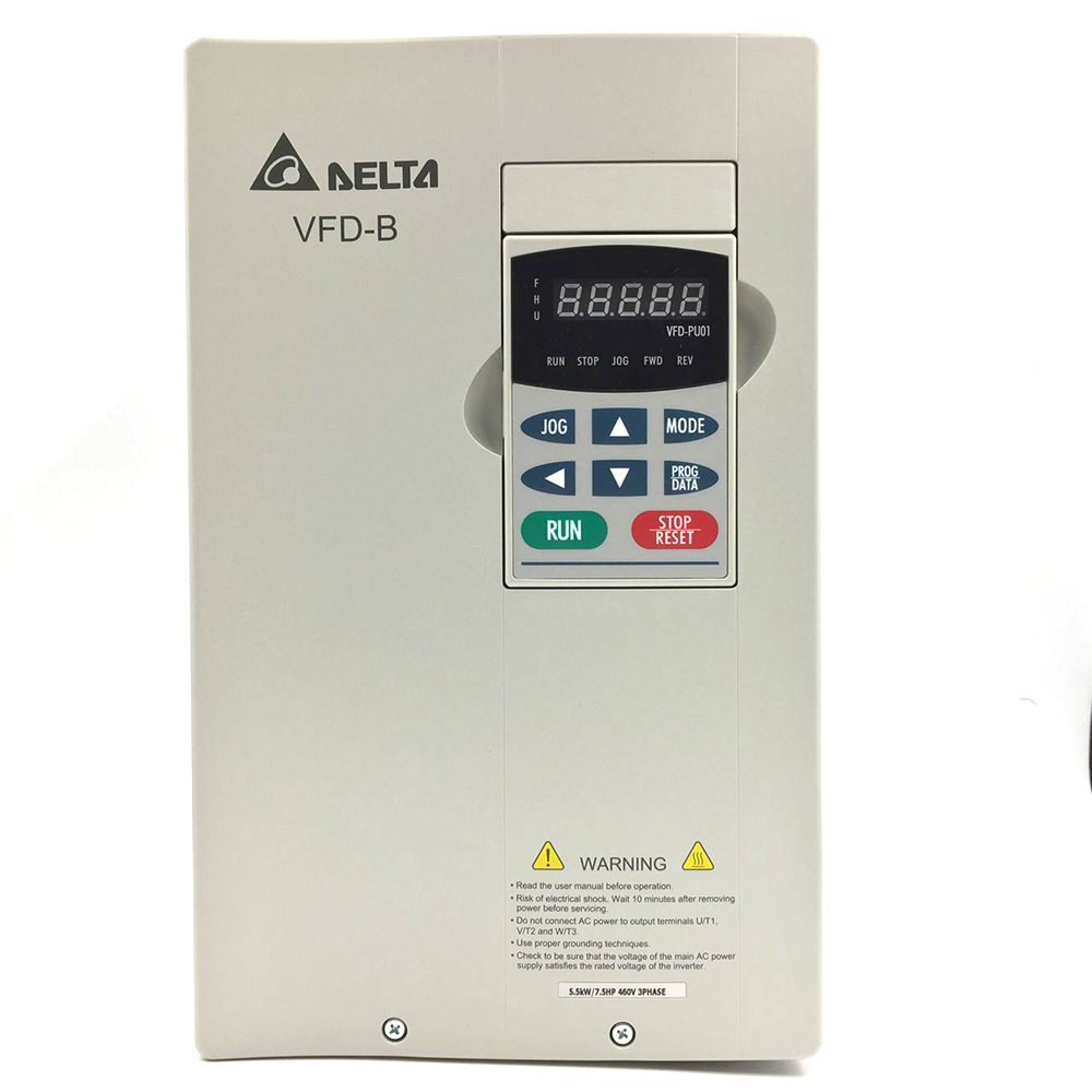 Delta Inverter VFD drive VFD055B43A 3Phase 380V 5.5kW 7.5HP 0.1~400Hz  Wood carving &Mac ...