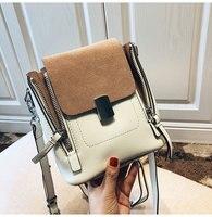 [Hely Coptar]100% Genuine Leather Mini Black White Women Backpack Fashion Designer 2018 causal Bag Shoulder European and America