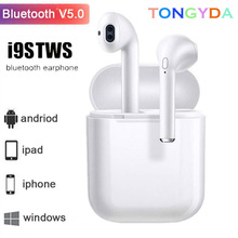 Wireless Headsets i9s i7s I7 tws Bluetooth Earphone Earbuds 5.0 For xiaomi iPhone earphones With Charging Box